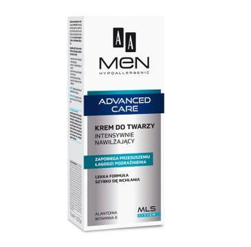AA Men Advanced Care krem do twarzy intensywnie nawilżający dla mężczyzn 75 ml