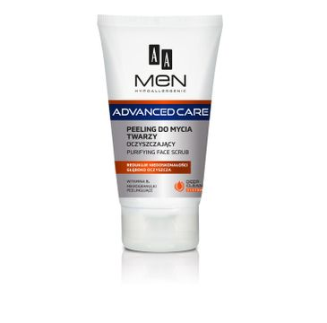 AA Men Advanced Care Peeling do mycia twarzy 150 ml
