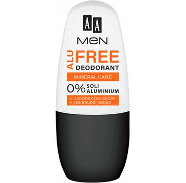 AA Men Alu Free – dezodorant 0% soli aluminium (1 szt.)