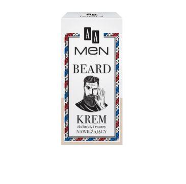 AA Men Beard Krem do brody i twarzy nawilżający 50 ml