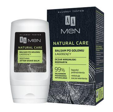 AA Men Natural Care balsam po goleniu łagodzący (100 ml)