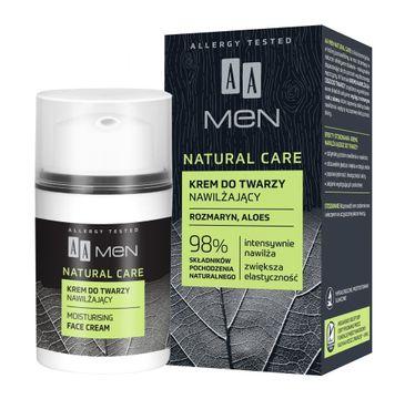 AA Men Natural Care Krem do twarzy nawilżający (50 ml)