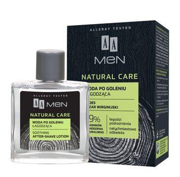 AA Men Natural Care Woda po goleniu łagodząca (100 ml)