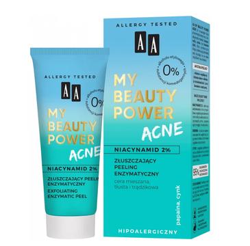 AA My Beauty Power Acne Złuszczający peeling enzymatyczny (40 ml)
