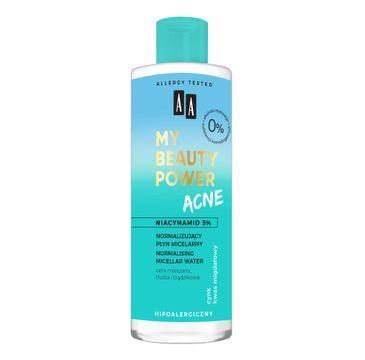 AA My Beauty Power Acne Normalizujący płyn micelarny (200 ml)