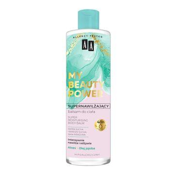 AA My Beauty Power Supernawilżający balsam do ciała aloes 48 h (400 ml)
