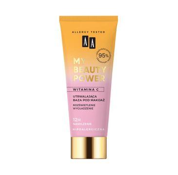 AA My Beauty Power Utrwalająca baza pod makijaż (30 ml)