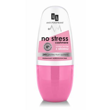 AA No Stress Cashmere antyperspirant w kulce 50 ml
