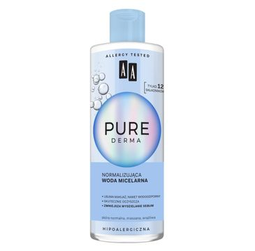 AA Pure Derma Normalizująca woda micelarna (400 ml)