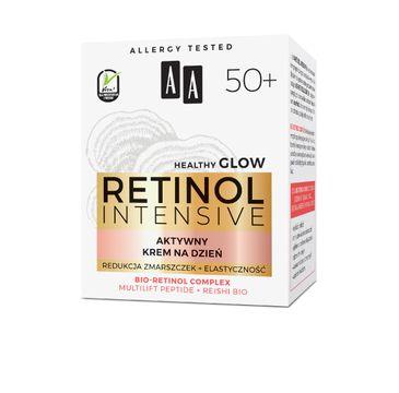 AA – Retinol Intensive 50+ aktywny krem na dzień redukcja zmarszczek+elastyczność (50 ml)