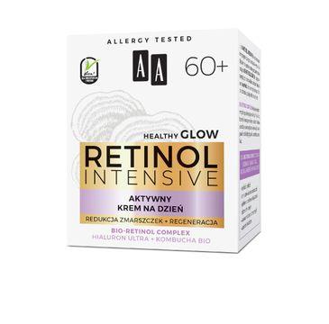 AA – Retinol Intensive 60+ aktywny krem na dzień redukcja zmarszczek+regeneracja (50 ml)