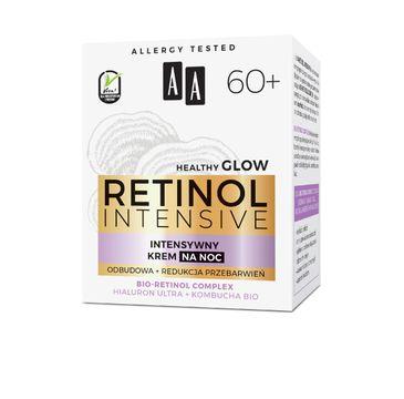 AA – Retinol Intensive 60+ intensywny krem na noc odbudowa+redukcja przebarwień (50 ml)