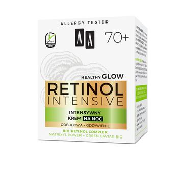 AA – Retinol Intensive 70+ intensywny krem na noc odbudowa+odżywienie 50ml