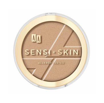 AA Sensi Skin Modeling & Sparkling Face Bronzer modelujący bronzer do twarzy 01 Amber 9g