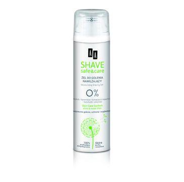 AA Shave Safe & Care - Nawilżający żel do golenia 200 ml