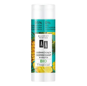 AA Super Fruits & Deo Stick od艣wie偶aj膮cy dezodorant w sztyfcie Gio Tropical (25 g)