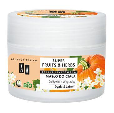 AA – Super Fruits & Herbs masło do ciała Dynia & Jaśmin (200 ml)