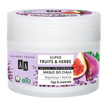AA – Super Fruits & Herbs masło do ciała Figa & Lawenda (200 ml)