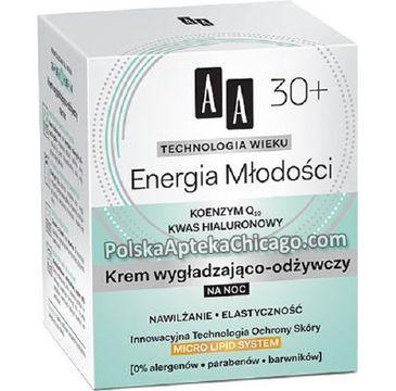 AA Technology Age 30+ Energy Of Youth Night Cream wygładzająco-odżywczy krem na noc 50ml