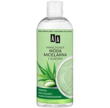 AA – Skin Food Nawilżająca woda micelarna z aloesem (400 ml)