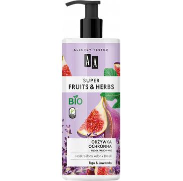 AA – Super Fruits & Herbs odżywka ochronna włosy farbowane figa&lawenda (500 ml)