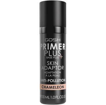 Gosh Primer Plus Base Plus+ Skin Adaptor – baza pod makijaż adaptująca się do koloru skóry 005 Chameleon (30 ml)