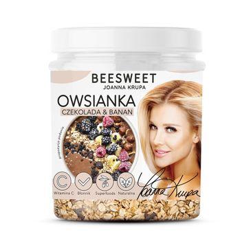 Beesweet – Owsianka Czekolada & Banan (60 g)