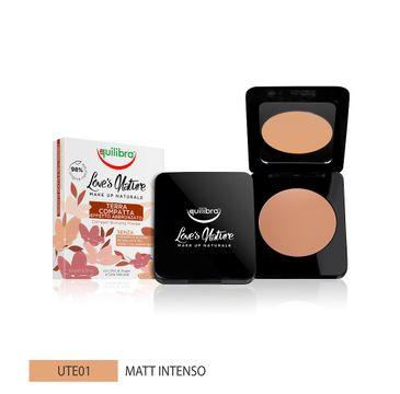 Equilibra Love's Nature Compact Bronzing Powder puder brązujący 01 Intense Matte (8.5 g)