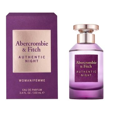 Abercrombie&Fitch Authentic Night Woman woda perfumowana spray (100 ml)