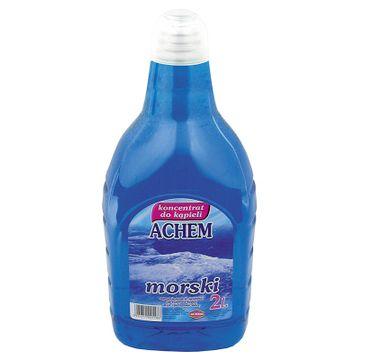 Achem koncentrat do kąpieli - zapach morski (2000 ml)