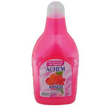 Achem Koncentrat do kąpieli - zapach Róża (2000 ml)