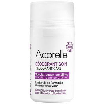 Acorelle Dezodorant w kulce dla skóry wrażliwej Ałun i Woda Rumiankowa (50 ml)