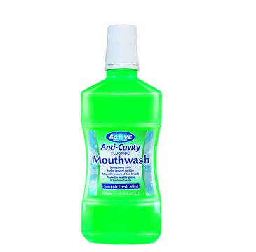 Active Oral Care Fresh Mint płyn do płukania jamy ustnej z fluorem 500ml