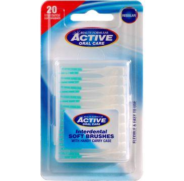Active Oral Care  silikonowe czyściki międzyzębowe soft 1 op. - 20 szt.