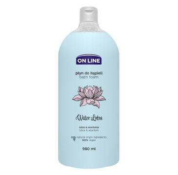 On Line – Płyn do kąpieli Water Lotus (980 ml)