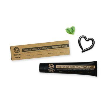 Mohani Smile Whitening Charcoal Toothpaste naturalna pasta wybielająca z węglem aktywnym 75ml