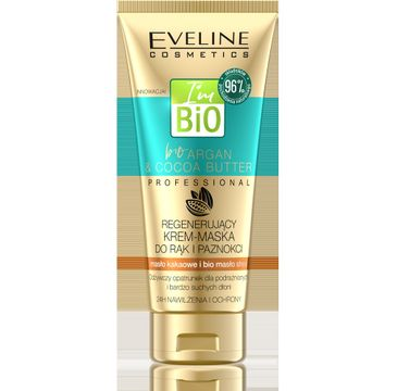 Eveline Argan & Cocoa Butter – regenerujący krem-maska do rąk i paznokci (100 ml)