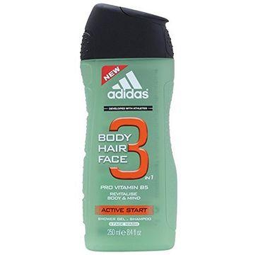 Adidas Active Start 3 żel pod prysznic 250ml