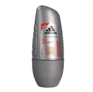 Adidas Adipower Men Roll-on antyperspirant dla mężczyzn 50 ml