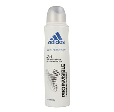 Adidas – Pro Invisible 48H antyprespirant w sprayu dla kobiet (150 ml)