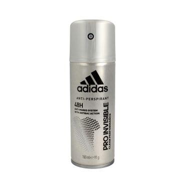 Adidas – Pro Invisible 48H antyprespirant w sprayu dla mężczyzn (150 ml)