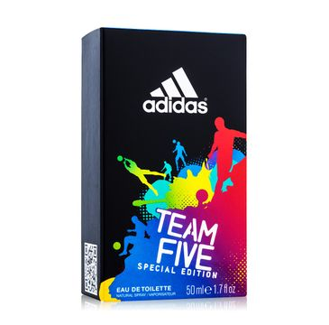 Adidas Team Five woda toaletowa męska 50 ml