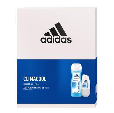 Adidas Zestaw prezentowy Climacool Women deo roll-on 50ml+żel pod prysznic 250ml