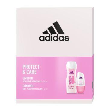 Adidas Zestaw prezentowy Protect & Care Women deo roll-on 50ml+żel pod prysznic 250ml