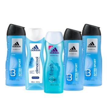 Adidas – Zestaw Damsko-Męski żeli pod prysznic (5 szt.)