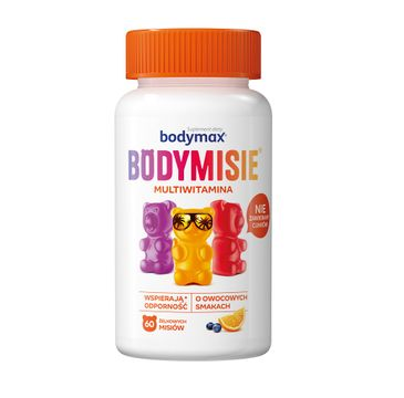 Bodymax – Bodymisie żelki dla dzieci suplement diety Multiwitamina (60 szt.)