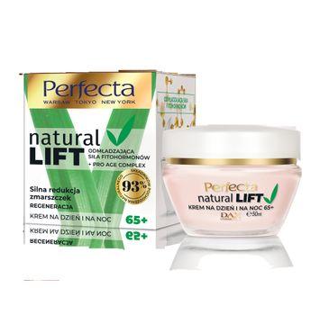 Perfecta –  Natural Lift przeciwzmarszczkowy krem do twarzy na dzień i noc 65+ (50 ml)