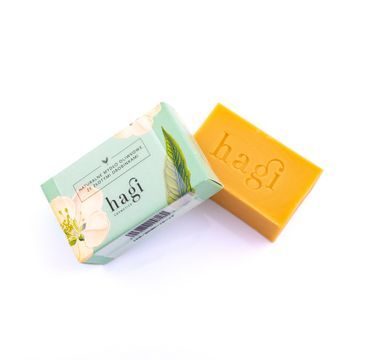 Hagi Cosmetics Naturalne mydło oliwkowe ze złotymi drobinkami (100 g)