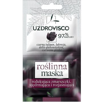 Uzdrovisco roślinna maska do twarzy redukująca zmarszczki Czarny Tulipan (10 ml)