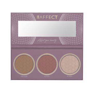 Affect – Contour Palette II Paleta do konturowania twarzy (1 szt.)